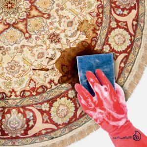 روش های پاک کردن لکه قهوه از روی فرش